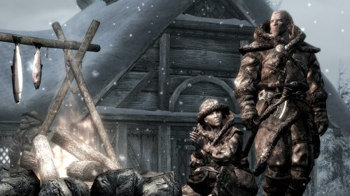 More details and first screenshots for Skyrim's Dragonborn DLC released