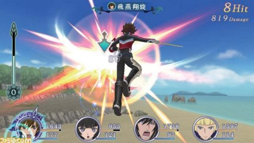 Tales of Hearts R screenshots released; show off 3D battles and models