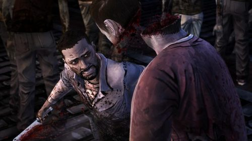 First screenshot of The Walking Dead: No Time Left released