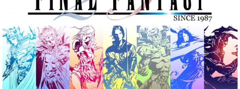 Celebrating 25 years of Final Fantasy