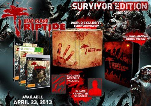 Dead Island Riptide Aussie Collectors Edition Detailed