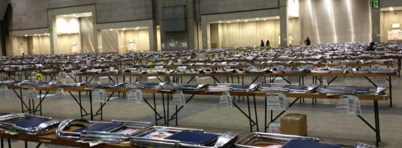 3 threat letters discovered at Comiket 83
