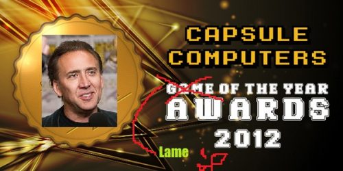 Capsule Computers Lame of the Year Awards 2012