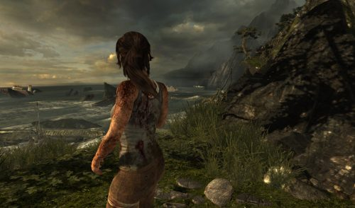 TressFX creates realistic hair animations demonstrated using Tomb Raider