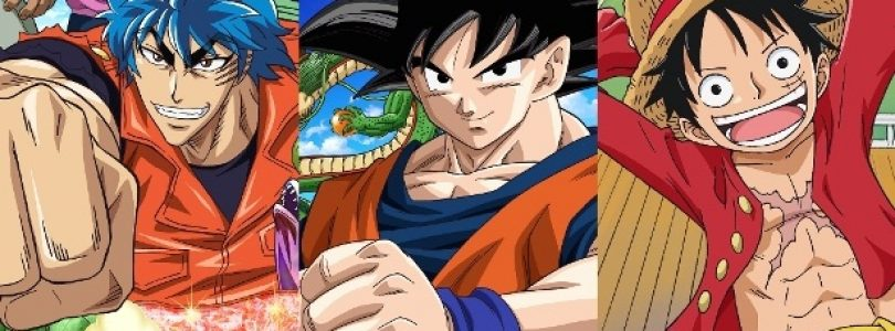 Toriko x One Piece x Dragon Ball Anime Special Preview