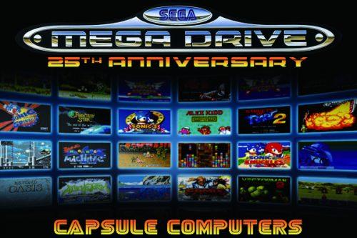 Celebrating the 25th Anniversary of the Sega Mega Drive