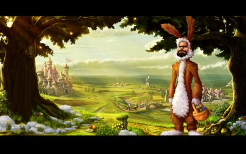 The Settlers Online Gets a Visit from the Easter Bunny
