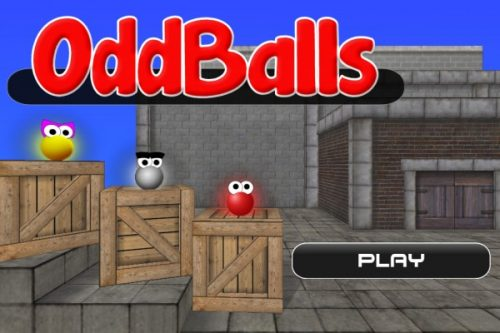 Oddballs: New iOS Physics Title from Velvety Couch Games