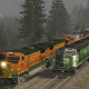 Train Simulator 2013 Receives Marias Pass Route