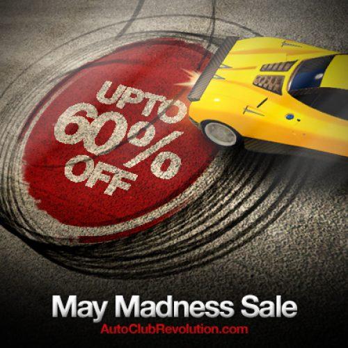 Auto Club Revolution Announces May Madness Sale