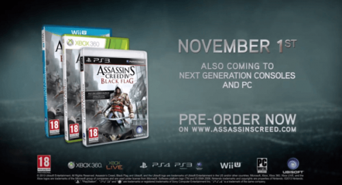 Assassin's Creed 4 New Video And Figurine