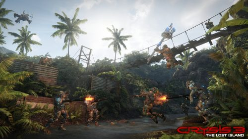 New Crysis 3: The Lost Island DLC Screenshots