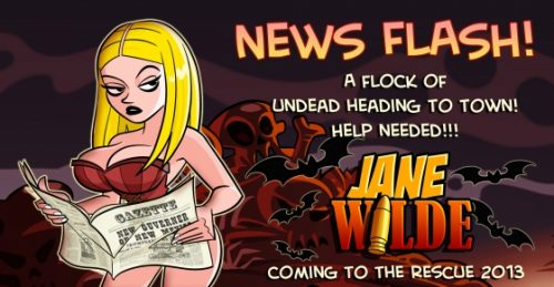 'Jane Wilde' Side-Scrolling Shooter Announced