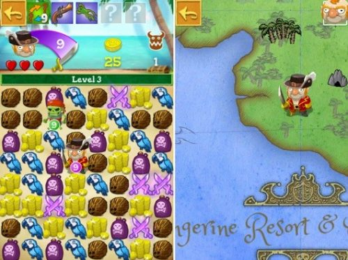 Scurvy Scallywags Sets Sail for iPhone and iPad