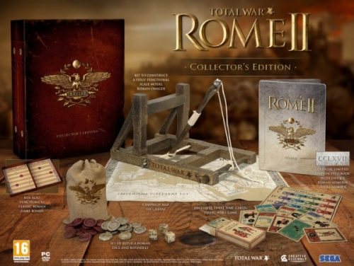 Total War: Rome II Dated and Collector's Edition Announced