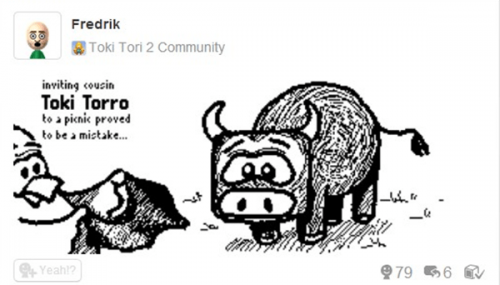 Toki Tori 2 Miiverse Drawing Contest Round 2 Kicks Off