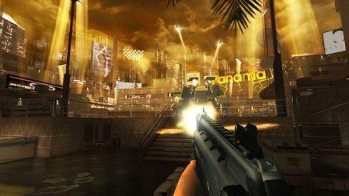 Deus Ex: The Fall on iOS Thursday
