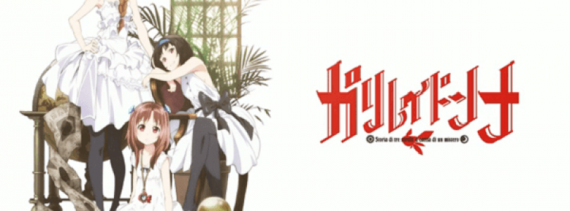Original Anime Galilei Donna Announced for this Fall Season