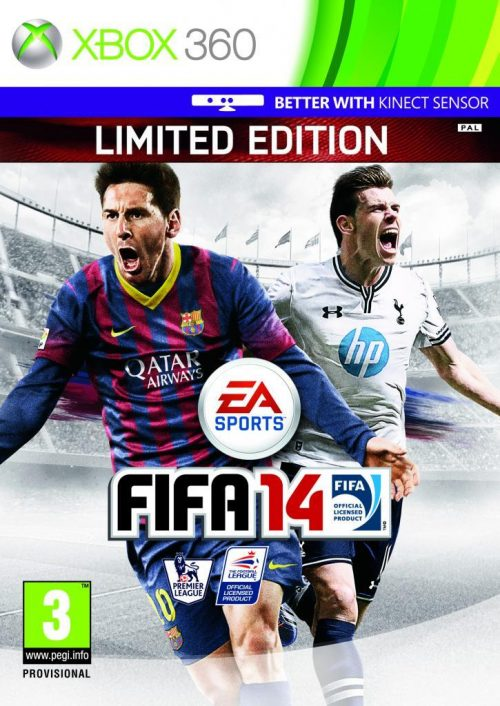 FIFA 14 Gets Bale As Cover Star