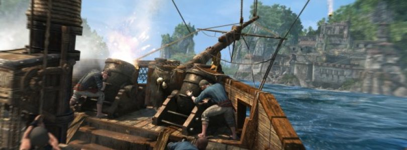 Assassin's Creed IV: Black Flag Naval/Fort Gameplay Video