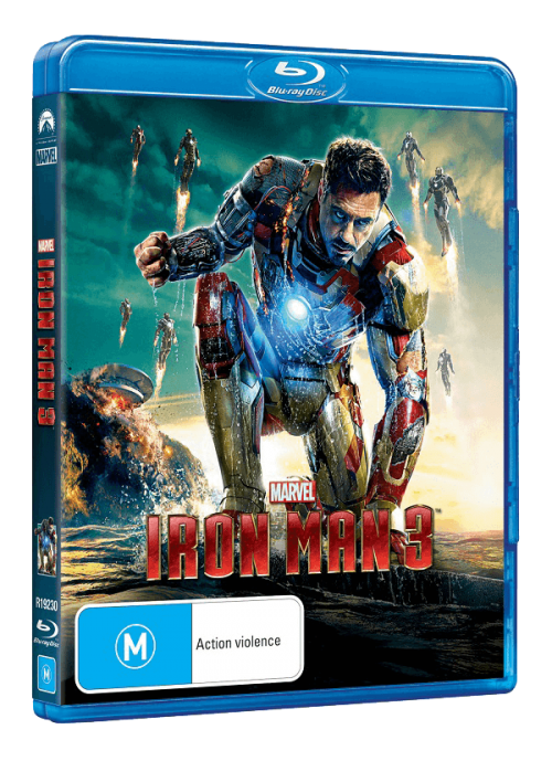 Iron Man 3 Flying onto Home Media August 28th