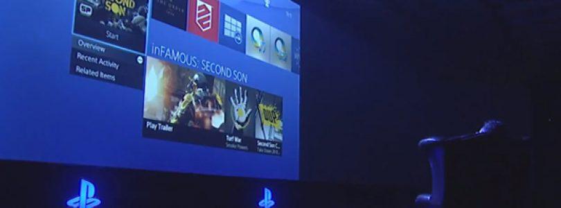 Shuhei Yoshida Demonstrates PS4 UI Live at Gamescom