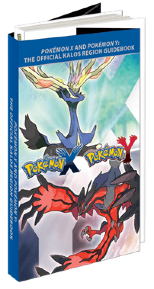 Pokemon X and Y Guidebook and Accessories Revealed