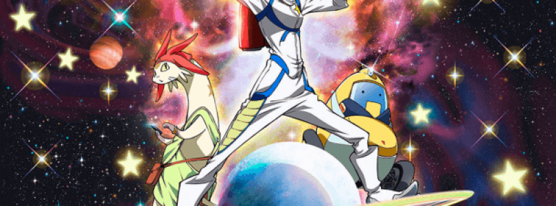 Space Dandy Characters and Story Unveiled
