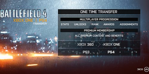 EA Supporting New Next-Gen Consoles by Allowing for Battlefield 4 Stats Carryover