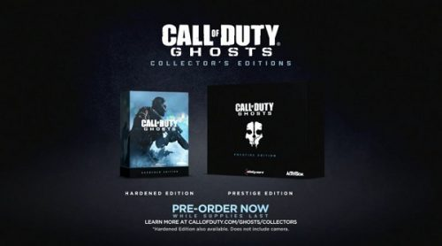 Call of Duty: Ghosts Collector's Editions revealed and detailed