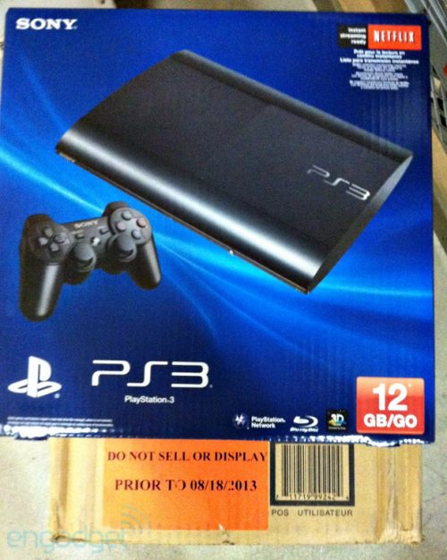 North America To Receive 12GB Flash-Based PS3?