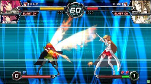 Dengeki Bunko Fighting Climax features Shana and Sword Art Online fighters