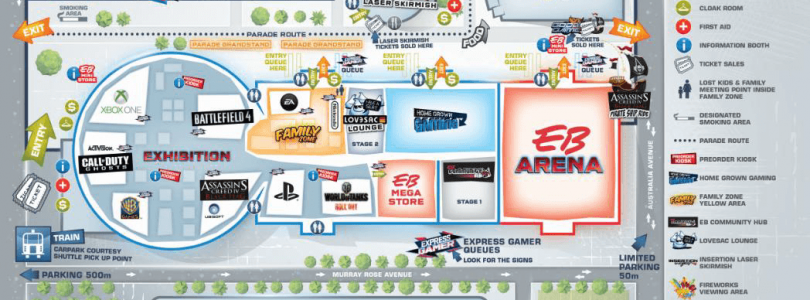 Ubisoft, EA and Wargaming Make EB Expo 2013 Even Bigger