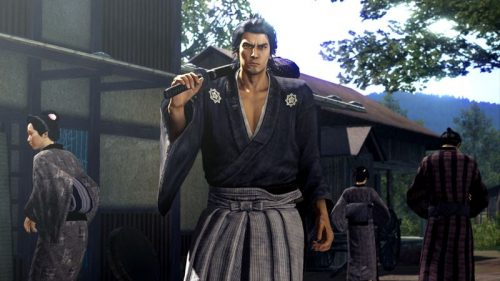 Yakuza Ishin Japanese PlayStation 4 Launch Title