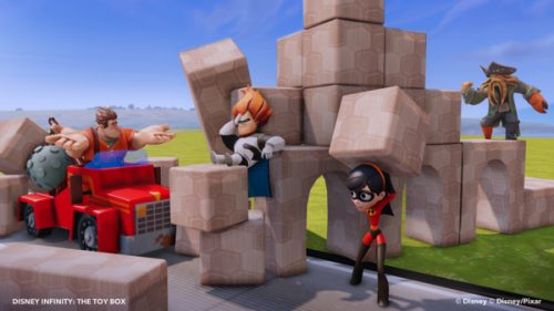 Destroy Things With Disney Infinity