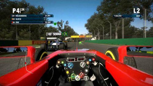 F1 2013 Jerez Classic Hot Lap Video