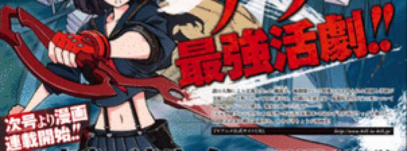 Kill La Kill Anime To Get A Manga Adaptation