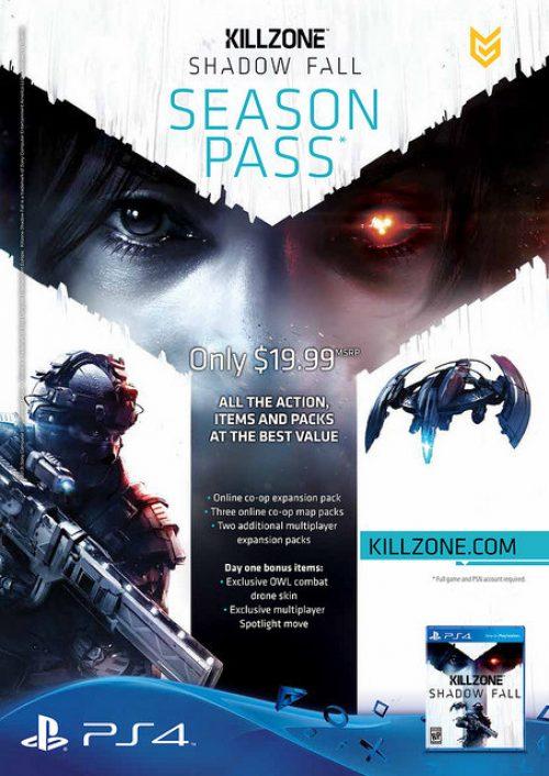 Killzone Shadow Fall Multiplayer and Season Pass Detailed