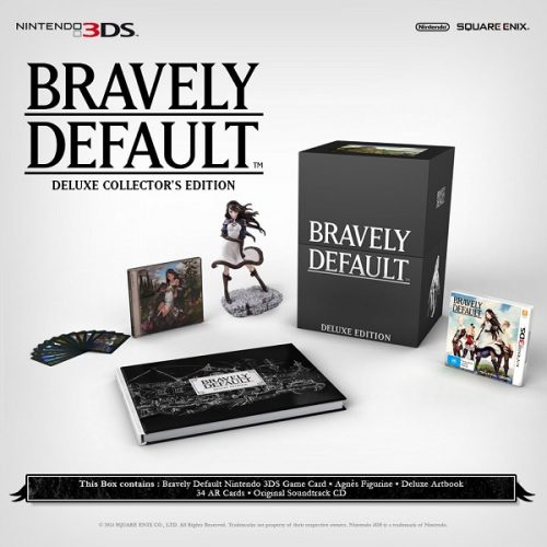 Bravely Default Deluxe Collector's Edition announced for Australia