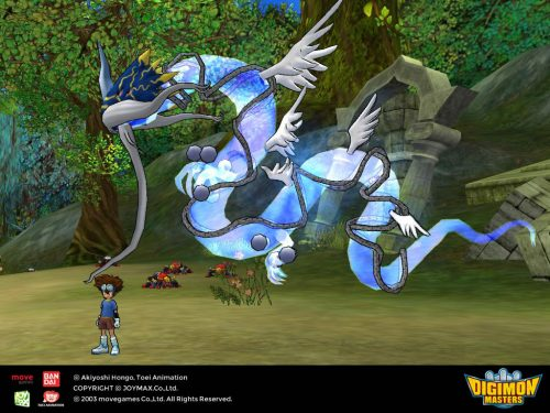 Qinglongmon Arrives in Digimon Masters