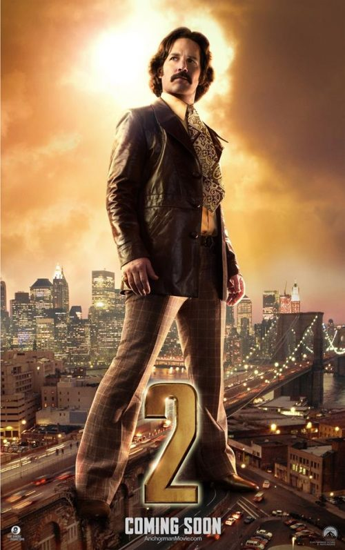 Anchorman 2: The Legend Continues Character Posters