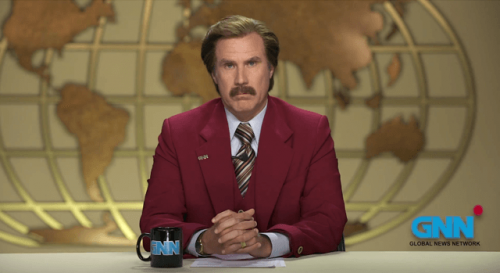 Ron Burgundy's Melbourne Cup Message