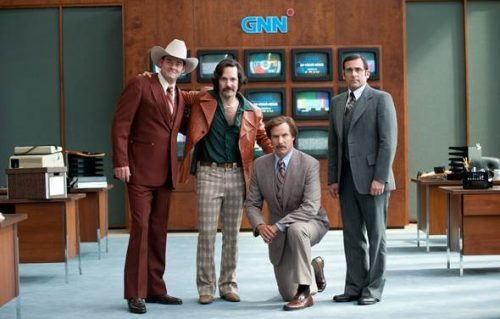 New Anchorman 2 Clip Has Ron Burgundy Questioning Himself?!