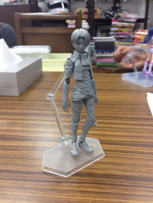 Attack On Titan Levi Figma First Images
