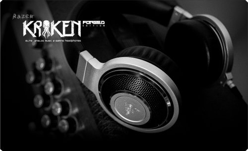 Razer Goes Metal With Kraken Forged Edition