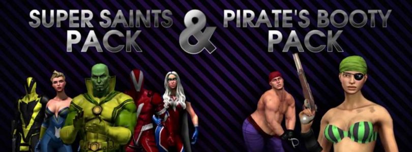 """Saints Row IV """"Pirate's Booty Pack"""" Released Today"""