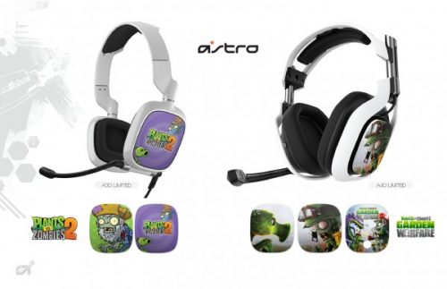 Astro Unveils Plants vs Zombies Themed Headsets