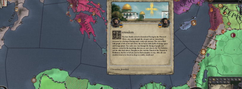 Crusader Kings II: Sons of Abraham Is Now Available