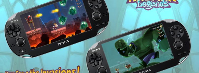 New Levels Coming to Rayman Legends for Free on PS Vita