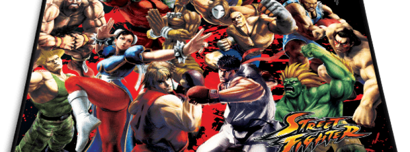 Capcom and Razer Team Up For Street Fighter Mouse Mat
